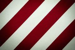 Roter und weißer gestreifter Segeltuchhintergrund Lizenzfreies Stockbild