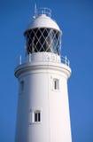 Roter und weißer hauptsächlichleuchtturm auf Portland nahe Weymouth in Dorse Lizenzfreies Stockbild
