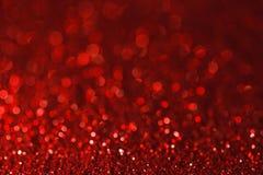 Roter Unschärfe bokeh Lichthintergrund stockfoto