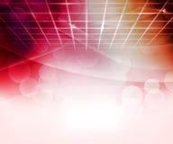 Roter virtueller abstrakter Hintergrund Lizenzfreie Stockfotografie