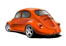 Roter Volkswagen Stockbilder