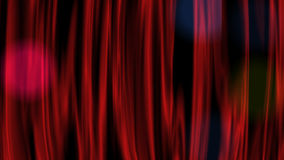 Roter Vorhang stock abbildung