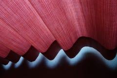 Roter Vorhang stockbild