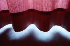 Roter Vorhang lizenzfreie stockbilder