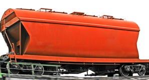 Roter Wagen. lizenzfreies stockfoto