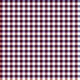 Roter, weißer und blauer Gingham-nahtloses Muster lizenzfreie abbildung
