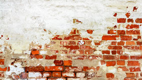 Roter weißer Wand Hintergrund Stockbilder
