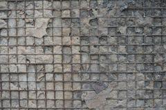 Roter weißer Wand Hintergrund Alte Grungy Backsteinmauer-horizontale Beschaffenheit Brickwall-Hintergrund Stonewall-Tapete Weinle Lizenzfreies Stockfoto