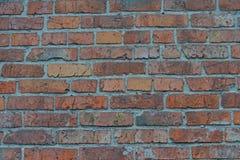 Roter weißer Wand Hintergrund Alte Grungy Backsteinmauer-horizontale Beschaffenheit Brickwall-Hintergrund Stonewall-Tapete Weinle Lizenzfreie Stockfotos