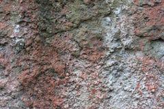 Roter weißer Wand Hintergrund Alte Grungy Backsteinmauer-horizontale Beschaffenheit Brickwall-Hintergrund Stonewall-Tapete Weinle Lizenzfreie Stockbilder
