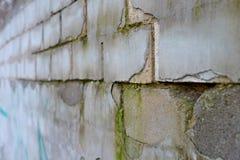 Roter weißer Wand Hintergrund Alte Grungy Backsteinmauer-horizontale Beschaffenheit Brickwall-Hintergrund Stonewall-Tapete Weinle Stockfotos