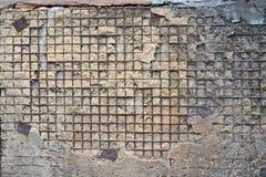 Roter weißer Wand Hintergrund Alte Grungy Backsteinmauer-horizontale Beschaffenheit Brickwall-Hintergrund Stonewall-Tapete Weinle Lizenzfreie Stockfotografie