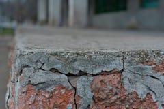 Roter weißer Wand Hintergrund Alte Grungy Backsteinmauer-horizontale Beschaffenheit Brickwall-Hintergrund Stonewall-Tapete Weinle Lizenzfreies Stockbild