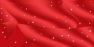 Roter Weihnachtenhintergrund Lizenzfreie Stockbilder