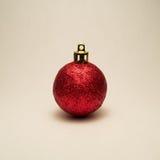 Roter Weihnachtsbereich Stockfotografie