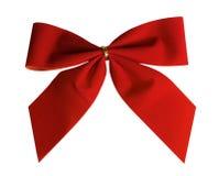Roter Weihnachtsbogen Lizenzfreie Stockfotografie