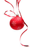 Roter Weihnachtsfühler Stockbilder
