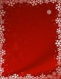 Roter Weihnachtshintergrund Lizenzfreie Stockfotos