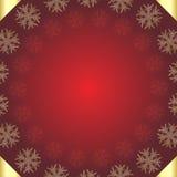 Roter Weihnachtshintergrund Stockbild