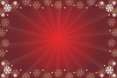 Roter Weihnachtshintergrund Stockfotografie