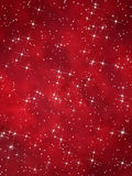 Roter Weihnachtshintergrund Lizenzfreies Stockfoto