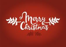 Roter Weihnachtshintergrund bereit, im Plakat, in der E-Mail oder in der Anzeige verwendet zu werden vektor abbildung