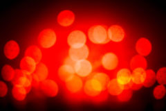 Roter Weihnachtshintergrund Funkelnweinlese beleuchtet Hintergrundesprit Lizenzfreie Stockfotografie