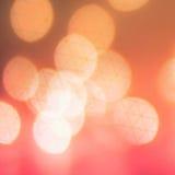Roter Weihnachtshintergrund Funkelnweinlese beleuchtet Hintergrundesprit Lizenzfreies Stockbild