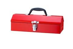 Roter Werkzeugkasten Lizenzfreies Stockbild