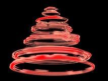 Roter Whirl lizenzfreie abbildung