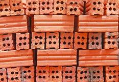Roter Ziegelstein Lizenzfreies Stockfoto