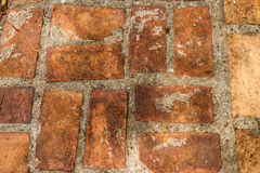 Roter Ziegelstein stockfoto