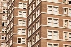 Roter Ziegelstein-Bürohaus Stockbilder