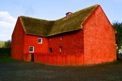 Roter Ziegelstein-Haus Stockfotografie