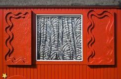 Roter Zirkusschlußteil Stockbilder
