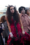Roter Zombie Stockfoto