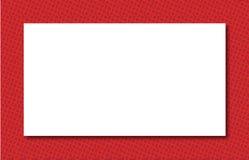 Roter Zonen-Rand Stockfotos