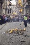 Roterande av branden Royaltyfri Bild