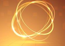 Roterande beståndsdelbakgrund för ljus tromb Fotografering för Bildbyråer
