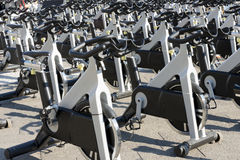 Roterande cyklar Arkivfoton