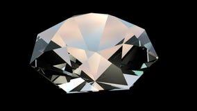 Roterande diamant 4k stock video