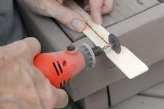 roterande hjälpmedel för drill Royaltyfri Bild