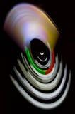 Roterande mobiltelefon Arkivbild