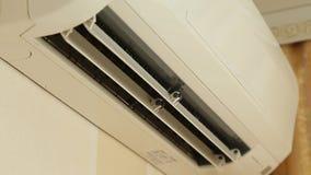 Roterande på luftkonditioneringsapparaten lager videofilmer