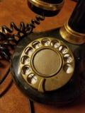roterande retro för telefon fotografering för bildbyråer