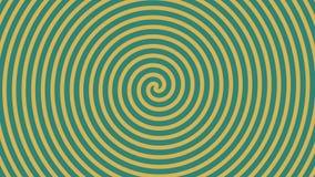 Roterande spiral abstrakt rörelsebakgrund vektor illustrationer