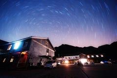 roterande stjärnor Arkivfoto