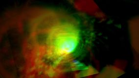 Roterande strålbakgrund stock video