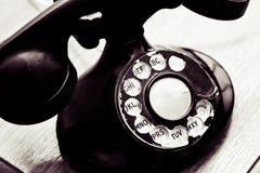 roterande tappning för visartavlatelefon Fotografering för Bildbyråer