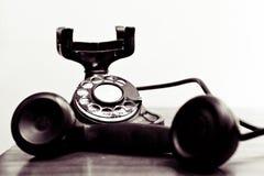 roterande tappning för visartavlatelefon Royaltyfri Fotografi